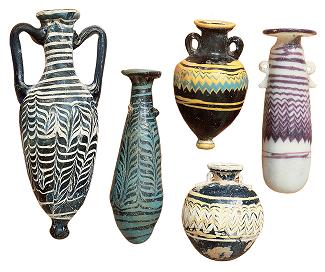 Various methods of glass vessels