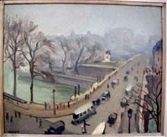 Le Pont Neuf (The New Bridge), 1935, oil on canvas