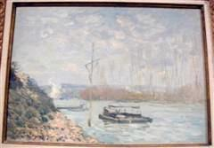 The Seine at Marly, 1873, oil on canvas