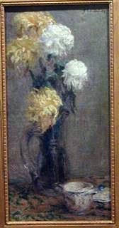 Bouquet de Chrysanthèmes, 1893, oil on canvas