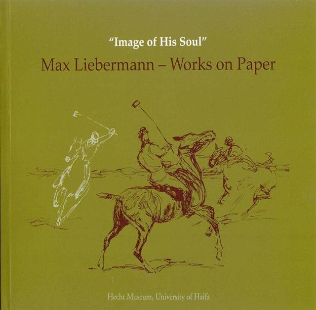 """Image of His Soul"" - Max Liebermann, Works on Paper"
